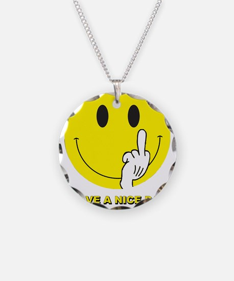 Funny Finger Necklace