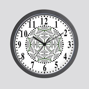 Eclectic Flower 294 Wall Clock