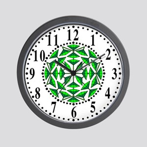 Eclectic Flower 296 Wall Clock