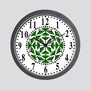 Eclectic Flower 297 Wall Clock