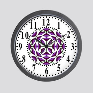 Eclectic Flower 306 Wall Clock