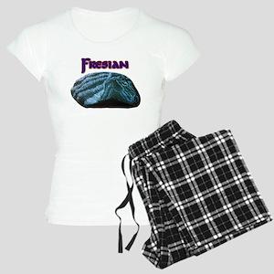 Fresian Horse Women's Light Pajamas