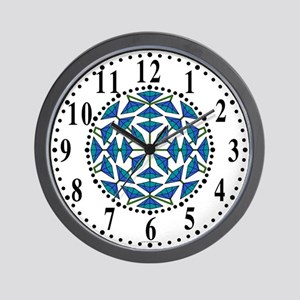 Eclectic Flower 272 Wall Clock