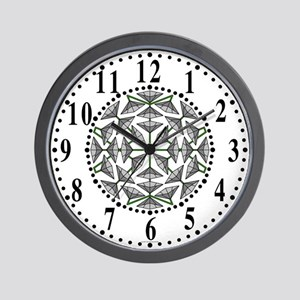 Eclectic Flower 275 Wall Clock