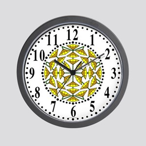 Eclectic Flower 282 Wall Clock