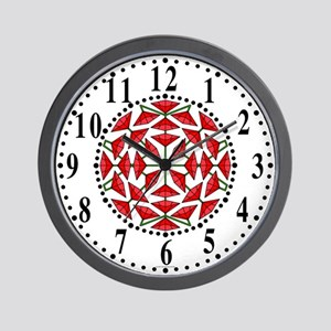 Eclectic Flower 286 Wall Clock
