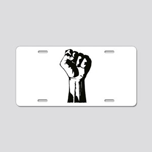 Fist Aluminum License Plate
