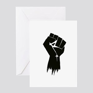 Rough Fist Greeting Card