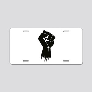 Rough Fist Aluminum License Plate