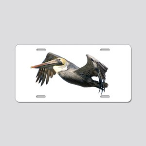 Pelican Flying Aluminum License Plate