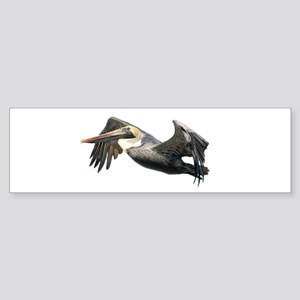 Pelican Flying Sticker (Bumper)