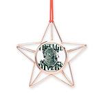 Copper Star Ornament