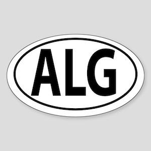 ALG - Algeria Sticker (Oval)