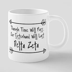 Delta Zeta Sisterhood 20 oz Ceramic Mega Mug