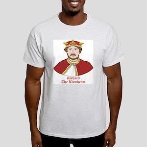 Richard the Lionheart Ash Grey T-Shirt