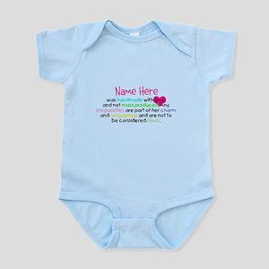 Customised Handmade With Love Infant Bodysuit