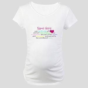 Customised Handmade With Love Maternity T-Shirt