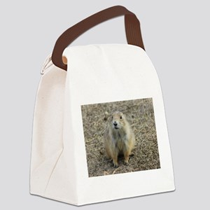 Prarie Dog Town Canvas Lunch Bag