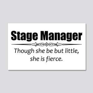Stage Manager Wall Decal