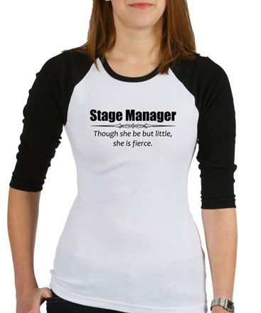 Stage Manager Baseball Jersey