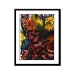 Floral Abstracts Framed Panel Print