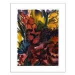 Floral Abstracts Small Poster