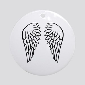 Angel wings Ornament (Round)