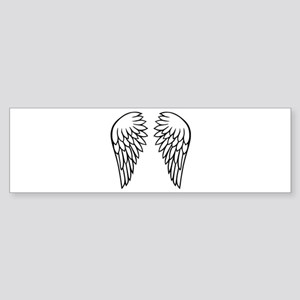 Angel wings Sticker (Bumper)