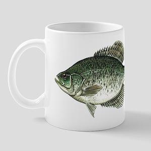 Black Crappie Fish Mug