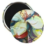 Floral Abstracts Magnet