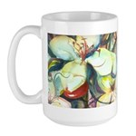 Floral Abstracts Large Mug