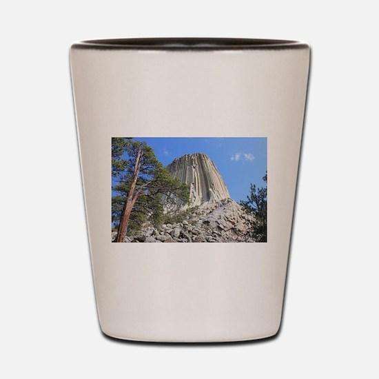 Devils Tower 3 Shot Glass