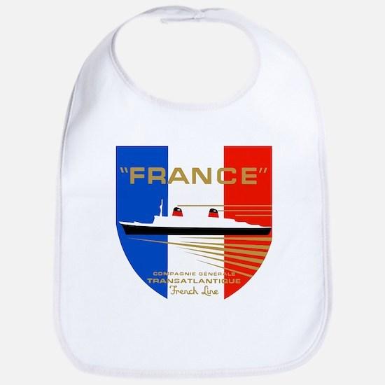 French Line 1 Baby Bib