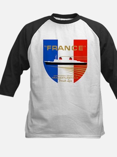 French Line 1 Baseball Jersey