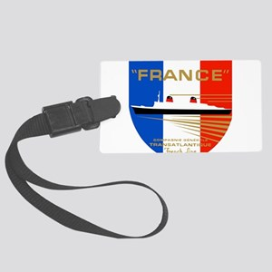 French Line 1 Large Luggage Tag