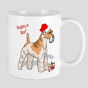 Fox Terrier Naughty/Nice Mug