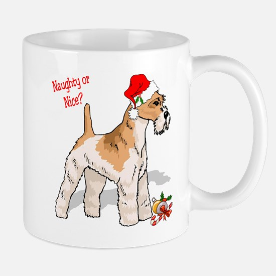 Fox Terrier Naughty/Nice Mug