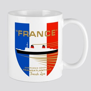 French Line 1 Mugs