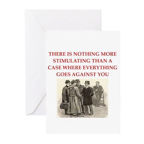 sherlock holmes Greeting Cards (Pk of 20)