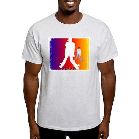 Jamskate Ash Grey T-Shirt