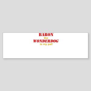 The Wonderdog Sticker (Bumper)