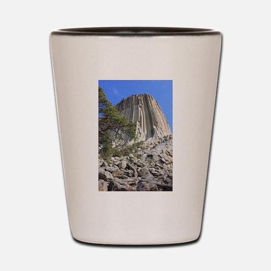 Devils Tower 4 Shot Glass