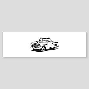 Old GMC pick up Sticker (Bumper)