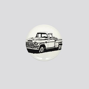 Old GMC pick up Mini Button