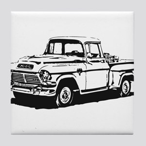 Old GMC pick up Tile Coaster