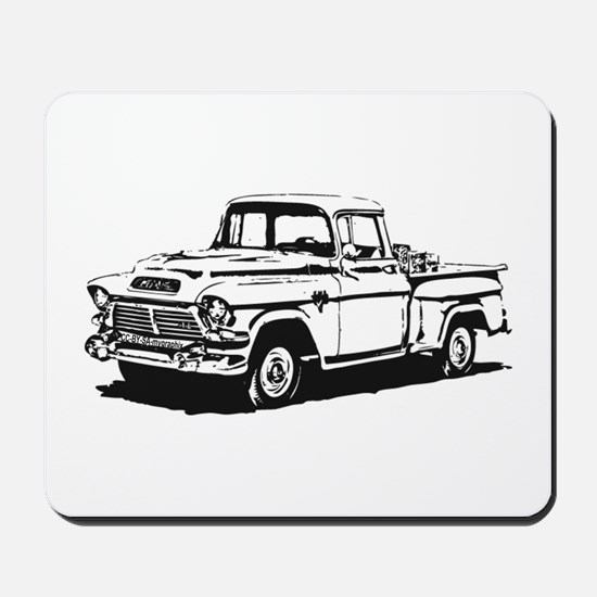 Old GMC pick up Mousepad
