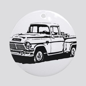 Old GMC pick up Ornament (Round)