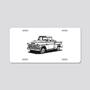 Old GMC pick up Aluminum License Plate