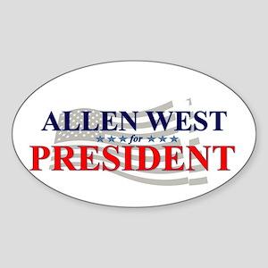 ALLENWEST  Sticker