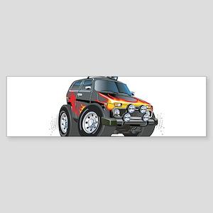 Cool Lada Niva Sticker (Bumper)